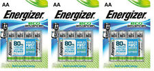 12 x AA ENERGIZER Eco Advanced Batteries - World's First 7638900410716 FREEPOST