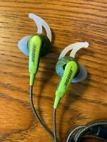 Bose SiE2i SoundSport In-Ear Headphones -W/Microphone-Green/Andriod Only!