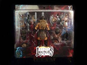 Mythic Legions Kickstarter 1.0 BARBARIAN LEGION BUILDER figure MOC FOUR HORSEMEN