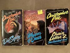 Christopher Pike PB Horror Lot  Young Adult Teen Paperback Chain Letter 2 Death