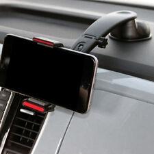 Adjustable Car Dashboard Sucker Mount Mobile Phone GPS Holder Clip Black