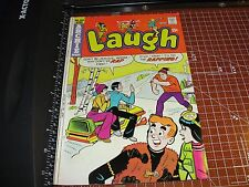 LAUGH #289 Archie Comics APR 1975 Reggie teaches MOOSE how to Rap / Midge cover