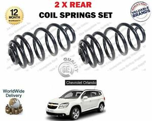 FOR CHEVROLET ORLANDO MPV 1.4 1.8 2.0D 2011--> NEW 2 X REAR COIL SPRINGS SET