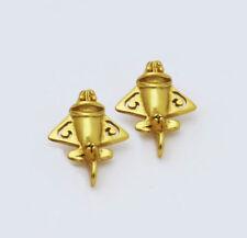 New Women Fashion Jewelry Handmade Gold plate Jet | Ancient Earrings