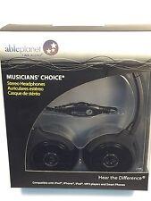 Able Planet Musicians Choice Stereo Headphone (Metallic Black)