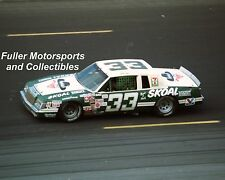 HARRY GANT #33 SKOAL BANDIT BUICK 1983 CHARLOTTE 8x10 PHOTO NASCAR WINSTON CUP