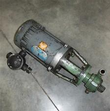 DOERR 1725RPM, 460V, 2.0A, 60Hz, 3-PHASE, ELECTRIC MOTOR WITH PUMP TYPE PFU3