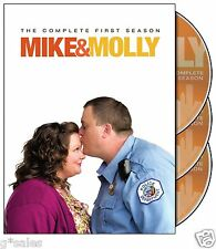 Mike & Molly ~ Complete 1st First Season 1 One ~ NEW & SEALED 3-DISC DVD SET