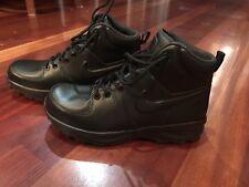 sports shoes 5239b 6c3ae Nike Legacy Cuero Triple Negro Botas Nuevo Hombre 8  454350-003