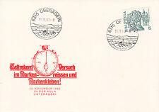 Schweiz FDC Ersttagsbrief 1982 Weltrekord im Markenkleben Mi.1100