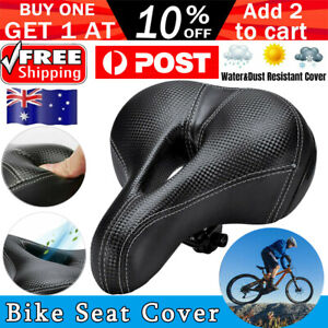 Bike Bicycle Saddle Seat Cover Mountain Padded Sporty Pad Comfort Soft Cushion
