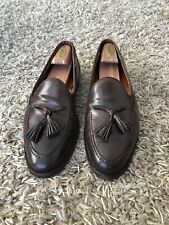 a64e48c0757 Crockett   Jones Ralph Lauren Marlow Tassel Loafer Shell Cordovan Brown ...