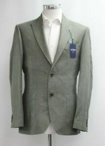 Men's T.M.Lewin Maltby Slim Fit Olive Jacket  Ref 64150 / 7515