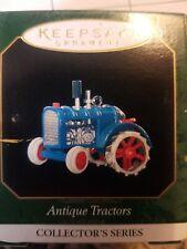 New listing Hallmark Keepsake Ornaments Antique Tractors 1999 Die-Cast series # 3