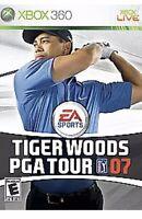 Tiger Woods Pga Tour 07 XBOX 360 Kids Golfing Game Golf Sports