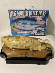 Vintage Big Mouth Billy Bass / The Singing Sensation 1999 NEW IN ORIGINAL BOX!