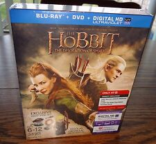 The Hobbit: Desolation of Smaug (Blu-ray/DVD) - Only at Target – Brand New