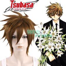 Tsubasa Reservoir Chronicle SYAORAN Short Brown Anime Cosplay Hair Wig
