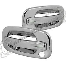 1999-2006 Chevy/GMC Silverado/Sierra 2 Chrome Door Handle Covers No PSKH