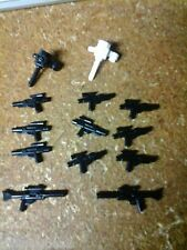 LOT OF LEGO STAR WARS BLASTER GUNS/RIFLES SPACE SCANNERS USED 13PCS