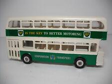 Meccano Ltd DinkyToys #292G ATLANTEAN DOUBLE DECK BUS. RESTORED LIKE NEAR MINT!