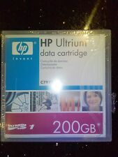 NUEVO PRECINTADO Genuino HP Ultrium Datos Cartucho 200gb C7971A