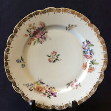 Assiette porcelaine de Paris  Louis-Philippe circa 1840 .France