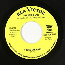 Northern Soul 45 - Freddie Paris - There She Goes - RCA Victor - VG++ mp3