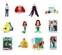 Disney Ariel The Little Sirena Muñecas Peluche Figuras Ursula Flounder Sebastian