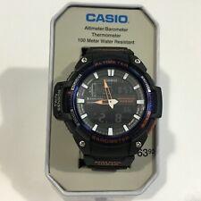 Casio SGW450H-2B Twin Sensor Watch Altimeter Thermometer 100 Meter 5 Alarms