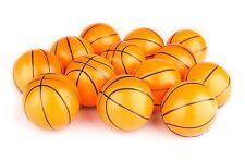 SET OF 12 MINI STRESS NBA BASKETBALLS PARTY FAVOR GOODY BAGS CARNIVAL TREAT