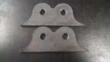 radius rod frame bracket t bucket hot rod rat coupe 23 dual hole bracket 32 ford
