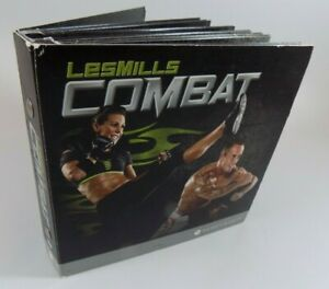 Les Mills Combat Warrior Workout 6 Disc DVD Set 6 Hours And 45 Min