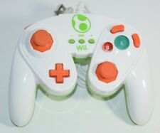 Yoshi GameCube Styled Wired Fight Pad Gamepad Wii PDP 085-006