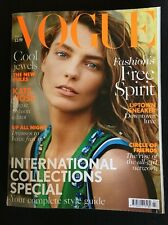 Vogue Magazine March 2014 Daria Werbowy 'International Collections Special'