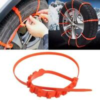 Anti-Skid Car Cable Tire Emergency Traction Mud Snow Chains for SUV Car Driving