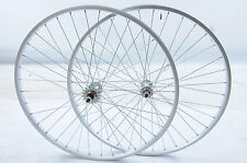 "PAIR 26 X 1 3/8"" ( 590 X 19 ) FLIP FLOP FIXIE BIKE WHEELS RIMS + SEALED HUBS"