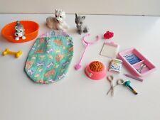 Barbie lot accessoire vétérinaire + animaux chien chat -Lot n° 41