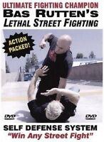 New Bas Rutten's Lethal Street fighting DVD Sealed Orignal
