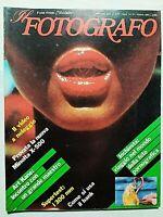 IL FOTOGRAFO N. 78 OTTOBRE 1983 INCHIESTA ILONA STALLER-ART KANE-AGATHE GAILLARD
