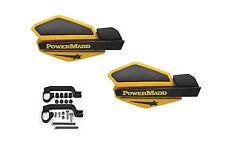 Powermadd Star Series Handguards Guards Mount Kit Ski Doo Yellow Yamaha ATV