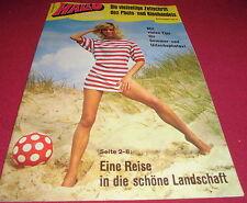 dachbodenfund heft  hallo die zeitschrift photo kino handel  alt 1971 reklame