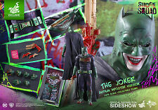 HotToys 1/6th Scale Suicide Squad Batman Imposter Joker MISB Best Deal Courier