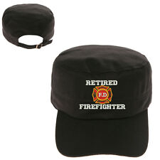 RETIRED FIRE FIGHTERS MILITARY CADET ARMY CAP HAT HUNTER CASTRO