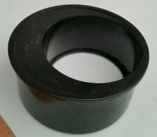 110-82mm pushfit/Solvent weld Reducer soilpipe drain koi pond 4inch/3inch BLACK