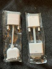 Apple/Mac 603-8525 DVI to VGA & 603-8471 Adapter Cable Mac Genuine OEM