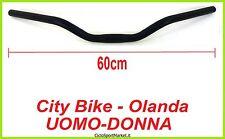 GUIDON vélo de ville / Hollande / homme femme aluminium / NOIR MAT