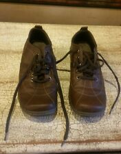 Women's Lower East Side brown Oxford shoes with shoelaces Size 7.5 EUC