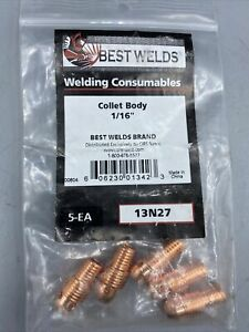 Best Welds 13n27 Collet Body 1/16 Brand New 🔥FAST FREE SHIPPING🔥