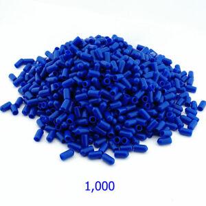 1,000 x BLUE Silicone Brake Bleed Nipple Bleed Screw Covers Caps NC6BLU-1000